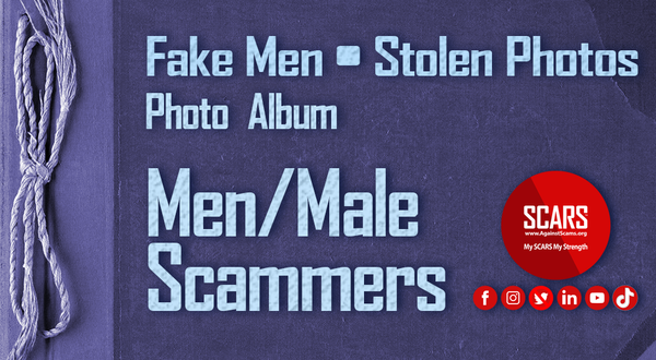 Stolen Photos Of Men/Males – June 2021 – Part 2 – Stolen Photos Used By Scammers