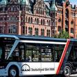 Fußball-EM: MAN-Busse fahren in schwarz-rot-gold durch die Metropolen