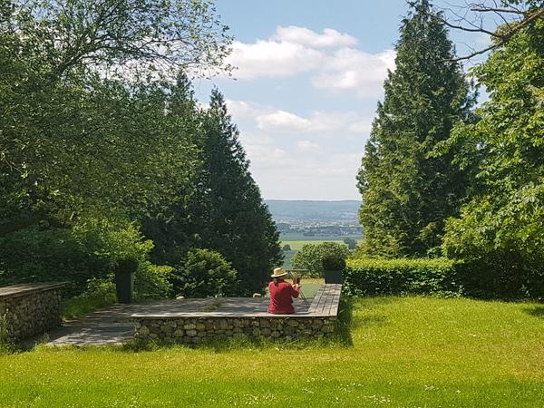 Der Trip'sche Park am Gehrdener Berg bietet Ausblicke. (Foto: Bernd Haase)