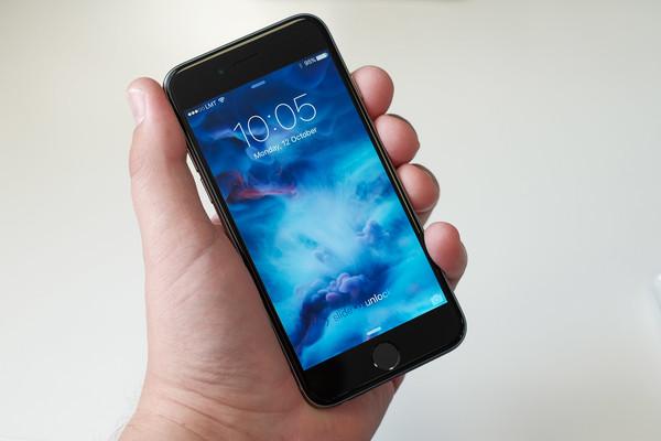This phone, from 2015, will run the latest iOS. (Kārlis Dambrāns/Flickr)