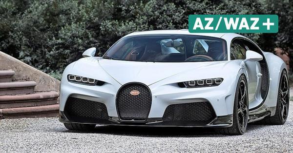 Hypersportwagen von Volkswagen: Bugatti baut 30 exklusive Chiron Super Sport