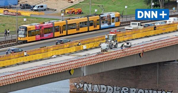 Dresden: Wieder freie Fahrt auf der Carolabrücke