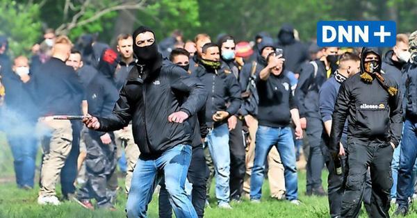 Woher kamen die Gewalttäter vom Dynamo-Aufstiegsspiel?