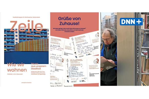 """Dresden: Wohnen in Johannstadt Thema im Stadtteilmagazin """"Zeile"""""""