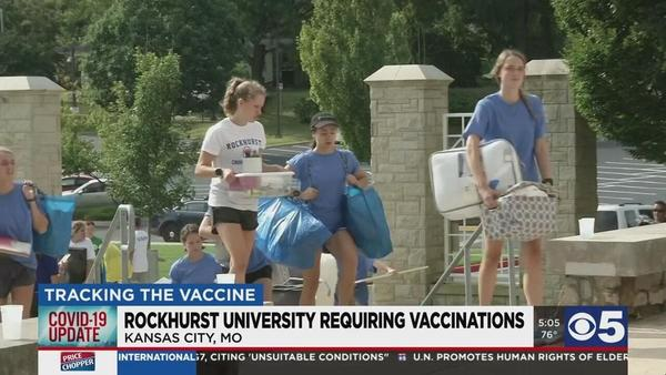 Rockhurst University students must be vaccinated by fall, KCKCC easing mask requirements | KCTV5 News This Morning | kctv5.com