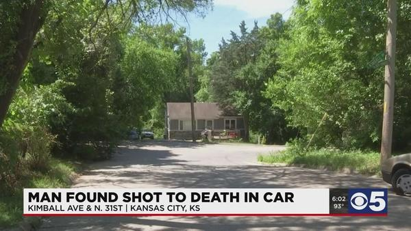 Man found shot, killed inside car in Kansas City, Kansas | News | kctv5.com