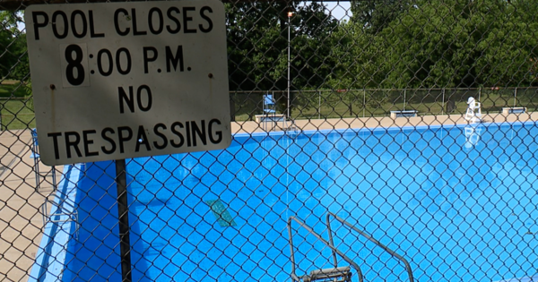 Timeline to drain closed KCK pool unclear despite near drowning