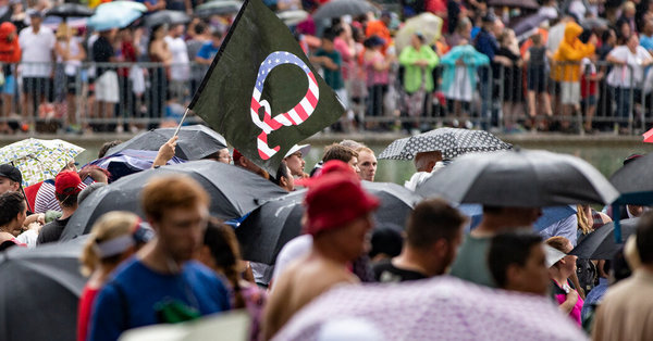 F.B.I. warns that some QAnon believers could turn to violence as predictions fail to bear fruit.