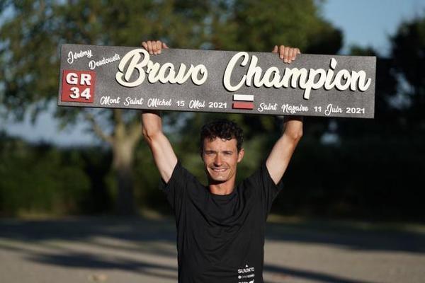Trail: Jérémy Desdouets a battu le record du GR34