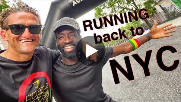 Running Back to NEW YORK CITY