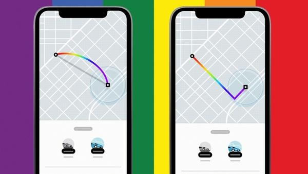 Si tomas un Uber en el mes de Junio se puede ver un arcoíris en la ruta.