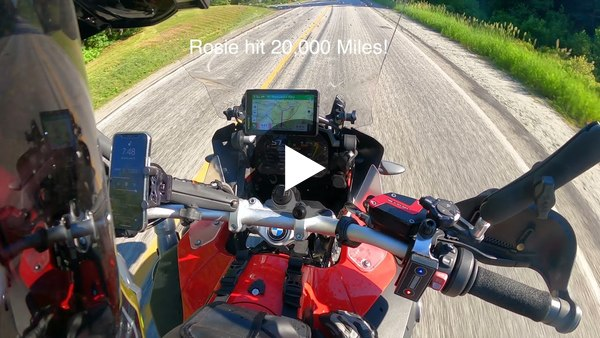 """Ride Vlog: A """"GS Ride"""" at the Yankee Beemers' Pemi River Rally 2021"""