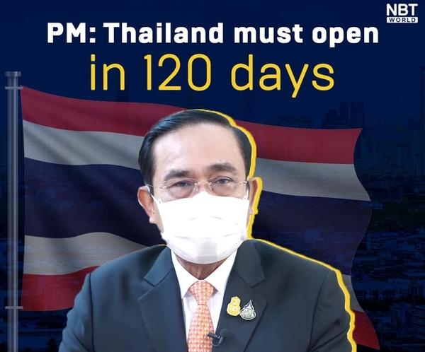La Thaïlande se donne 120 jours pour rouvrir complètement