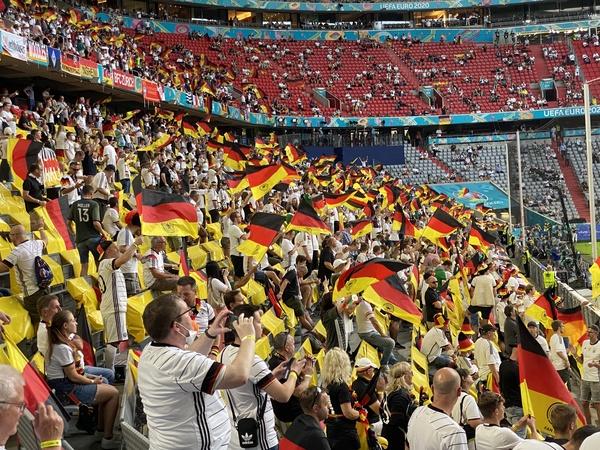 Es ging gesittet zu am vergangenen Samstag in der Allianz-Arena. Quelle: Alexander Gutzmer