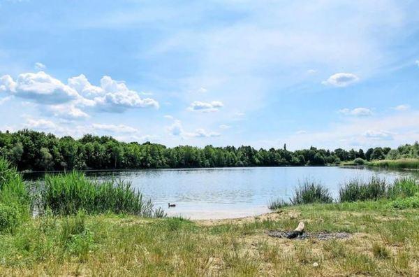 Ruhe und viel Grün: Naturbad Südwest in Großzschocher. Quelle: Robert Nößler