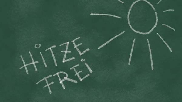 Hitzefrei an Schulen: Wann dürfen Schüler zu Hause bleiben?