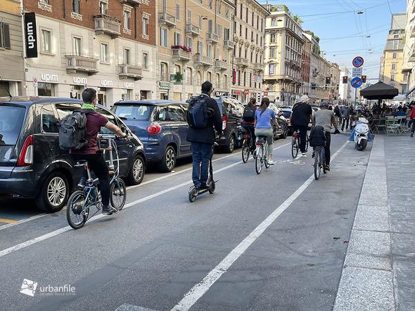 La ciclabile di Corso Buenos Aires non si tocca!