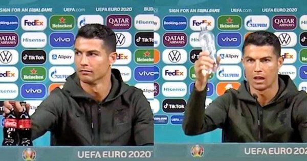 Se Cristiano Ronaldo fa perdere 4 miliardi a Coca-Cola con un semplice gesto - Cultura