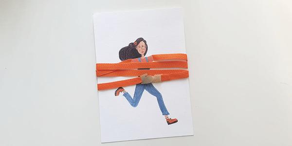 Knuffelkaart: een knuffel per post
