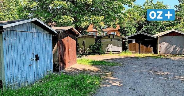 Köppernitztal in Wismar: Fast 100 Garagen müssen für sieben Stadtvillen weichen