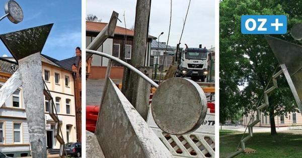 Skulpturen in Grevesmühlen: Die ungewöhnlichen Ideen hinter den Kunstwerken