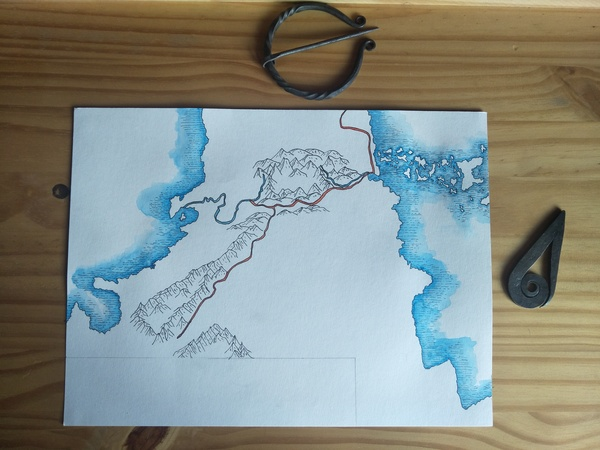 Roads, rivers, mountains, and coasts