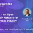 openIDL – An Open Blockchain Network for the Insurance Industry   Meetup
