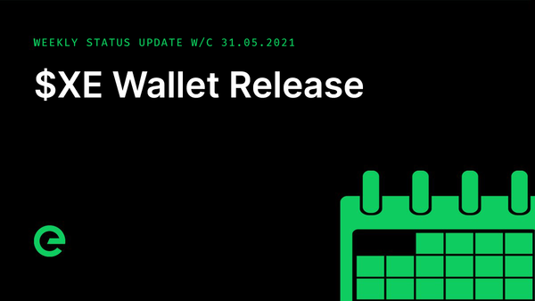 Weekly Update: W/C 31st May, 2021