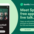 Spotify Greenroom - Talk music, sports and culture live