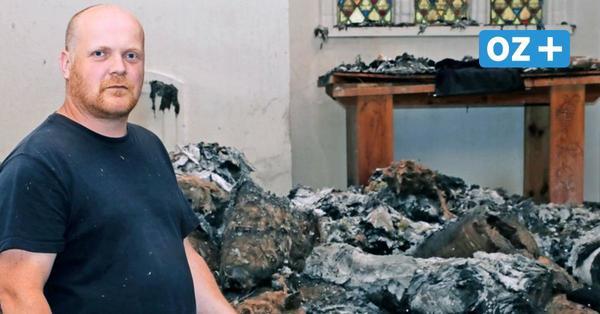 Nun steht es fest: Feuer in der St. Jürgen Kapelle Wolgast war Brandstiftung