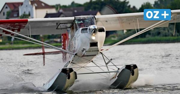 Usedom: Warum ein Wasserflugzeug aus Aachen unbedingt auf dem Haff landen wollte