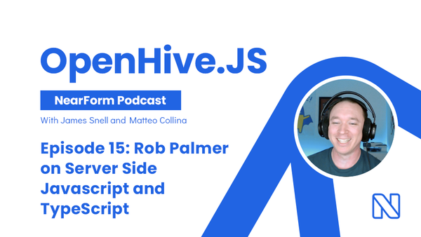 Rob Palmer on Server Side Javascript and TypeScript by OpenHive.JS • A podcast on Anchor