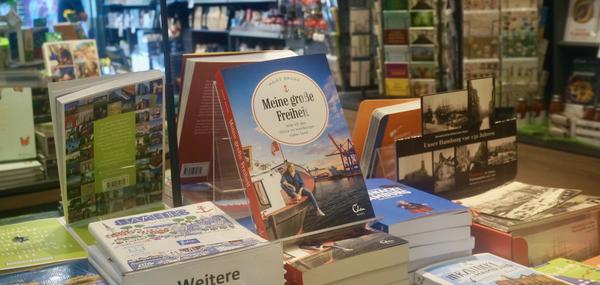 Le nouveau livre de Maike Brunk dans les librairies de Hambourg (AD)