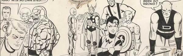 Steve Ditko - Spider-Man Original Comic Art