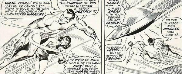 Bill Everett - Namor Original Art