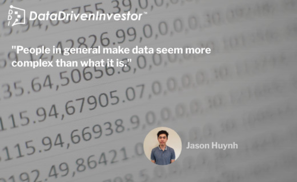 'A Lazy Man's Guide to Data Driven Investing' by Jason Huynh