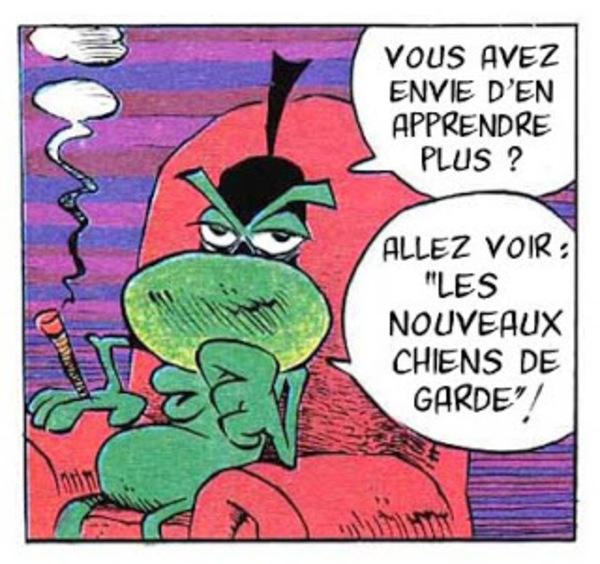 """Le fameux """"Concombre masqué"""" de Mandryka."""