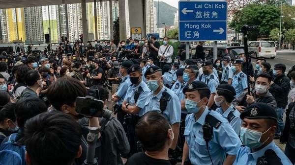 Hong Kong newspaper prints 500,000 copies in face of Chinese crackdown   TheHill