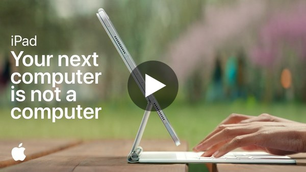 iPad | Your next computer is not a computer | Apple