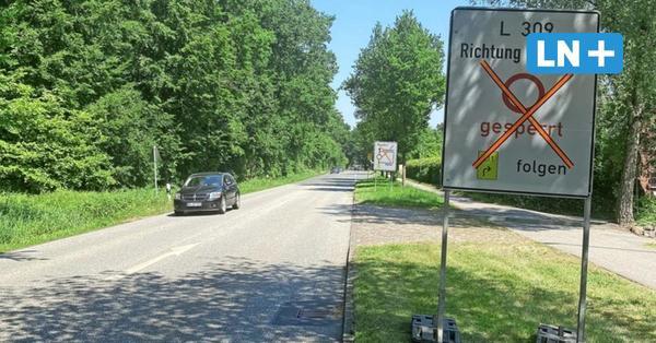 Vollsperrung bei Pansdorf: Ab Montag ist auch die A-1-Umfahrung dicht