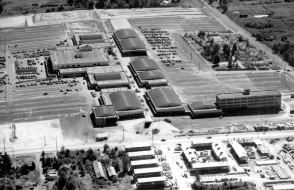 Northgate Mall in 1950
