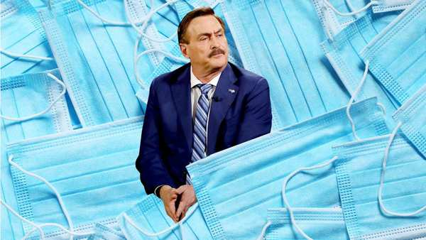 The Spectacular Failure of MyPillow Guy Mike Lindell's Mask Operation