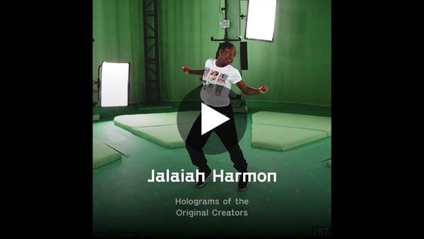 Jadu's dance routine NFTs