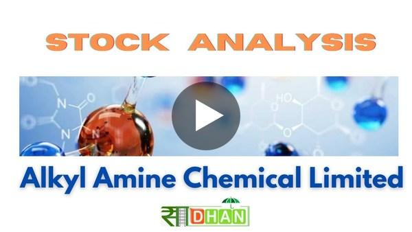 Stock Analysis: Alkyl Amines