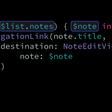 Bindable SwiftUI List Elements
