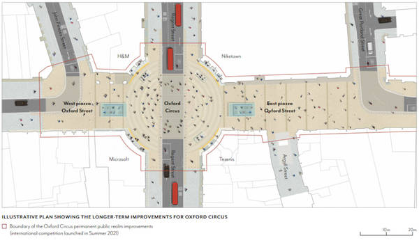 Westminster Council plans part-pedestrianisation of Oxford Street