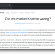 Did we market Knative wrong?
