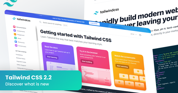 What is new in Tailwind CSS version 2.2?