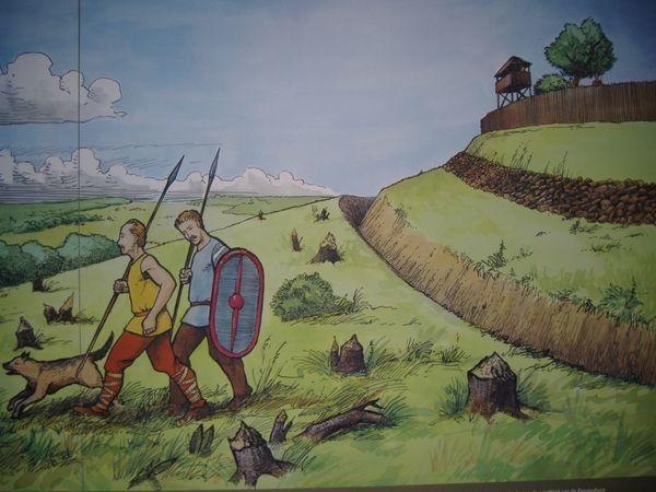 Le Mont Kemmel était autrefois le lieu de résidence des Celtes. - Op de Kemmelberg woonden ooit Kelten