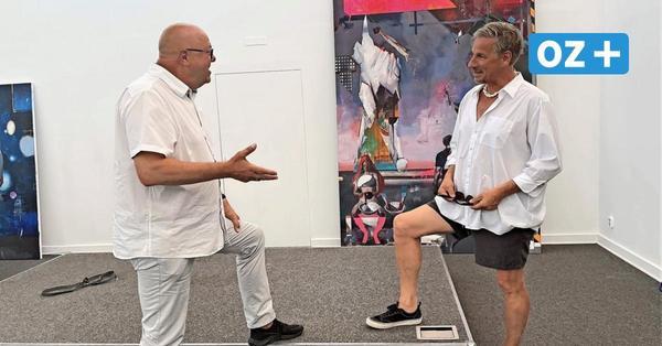 Rayk Goetze in der Kunsthalle Kühlungsborn: Das zeichnet die Bilder des Rauch-Meisterschülers aus